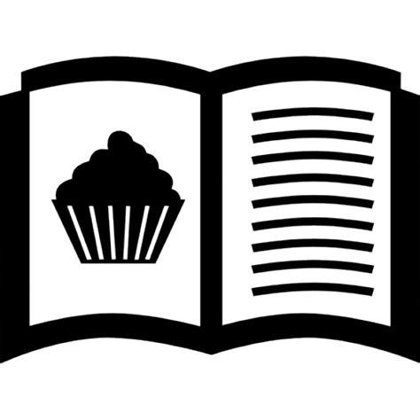 ebook di cucina gratis ricette dolci aperto libro di cucina scaricare icone gratis