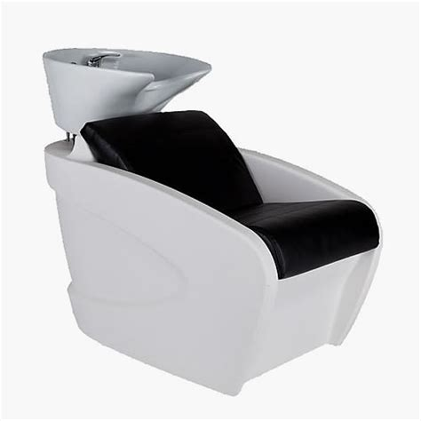 Vanity Chair Salon by Mila Vanity White Washpoint Complete In Standard Fabric