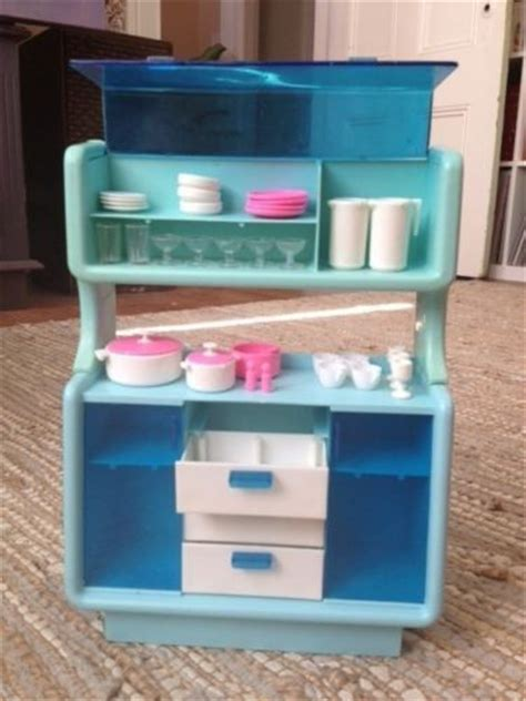 barbie dream house furniture vintage 80s barbie dream house furniture dining buffet china cabinet