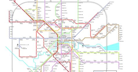 thameslink stops mindroutes crossrail extrapolated new network map