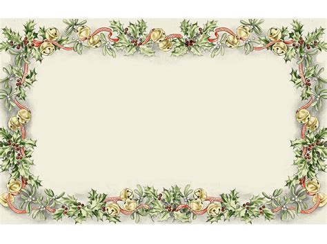 vintage frame powerpoint templates border frames christmas photo frame template free frames pictures design