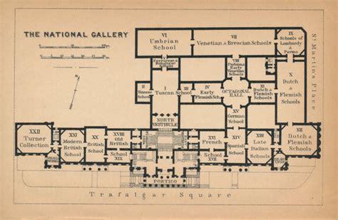 national gallery floor plan 1905 national gallery antique floor plan