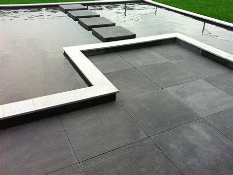 terrassenplatten 6cm 60x60x6 cm structuur antraciet gecoat