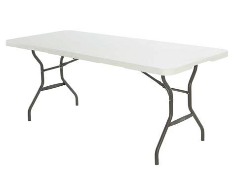 Table Blanche 1328 by Table De Jardin En R 233 Sine Pliante Blanche Transformable En