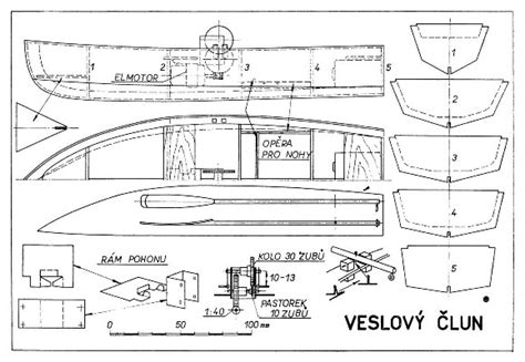 mini boat plans pdf veslovy clun plans aerofred download free model