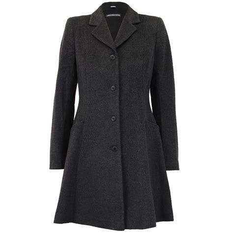 warm coats coat womens jacket wool look belt trench warm winter new ebay