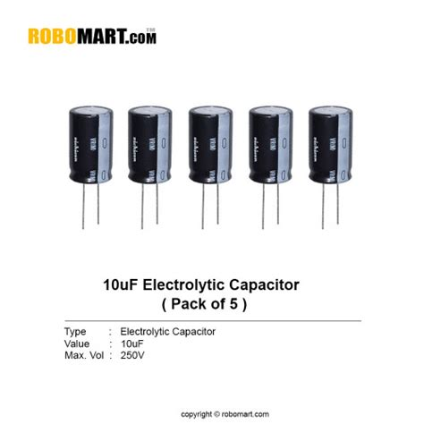 capacitor code for 10uf 10uf 250v electrolytic capacitor buy india