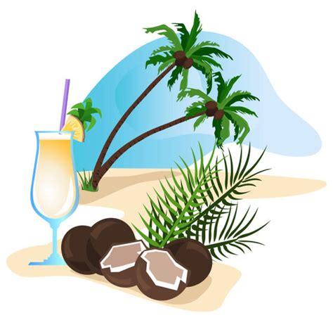 coco kartun kartun kelapa minuman kartun vektor vektor gratis download