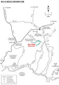 arizona forest road map blue ridge lake or reservoir arizona travels tours
