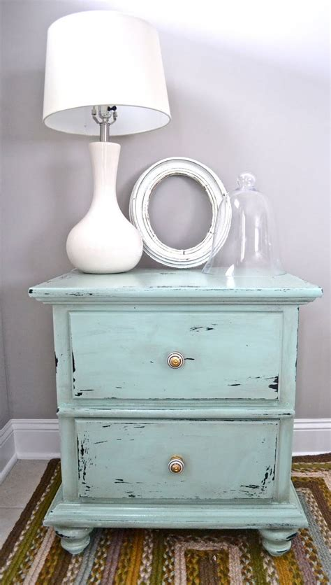25 best ideas about distressed end tables on