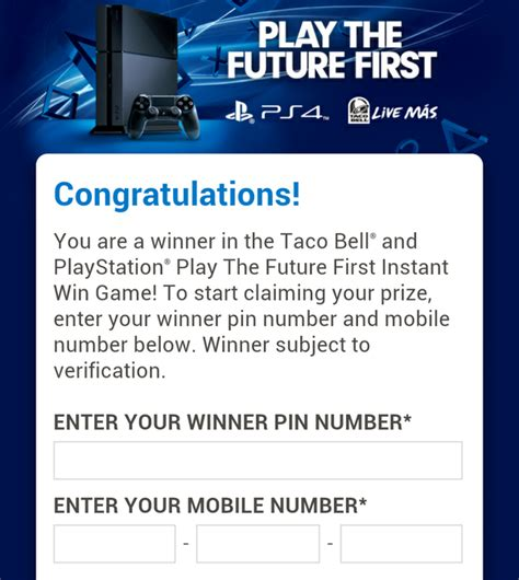 Taco Bell Ps Vita Giveaway - won a ps4 from taco bell last night playstation nation gamespot