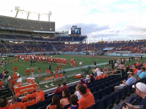 florida citrus bowl stadium section 108 rateyourseats