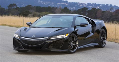 acura fires up its nsx supercar