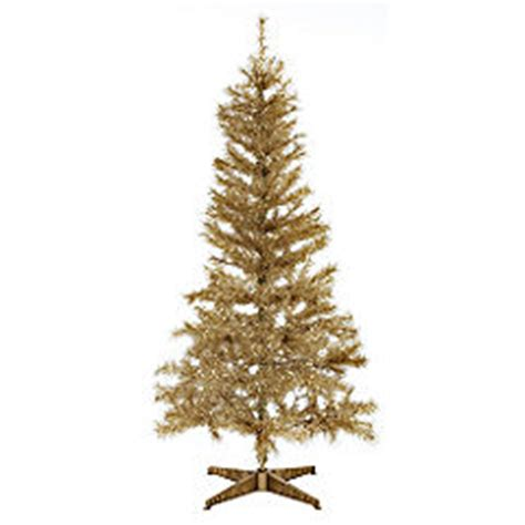 statutory sainsburys artificial christmas tree 6ft gold