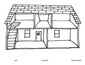 inside house coloring page empty house clipart clip art library