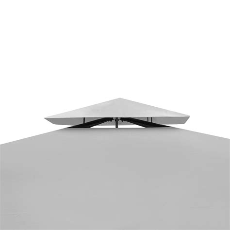 gartenpavillon 4 x 3 m vidaxl gartenpavillon aus poly rattan mit cremewei 223 em dach