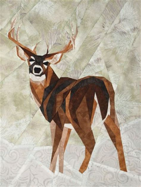 pattern whitetail deer 256 best images about animal quilts on pinterest animal