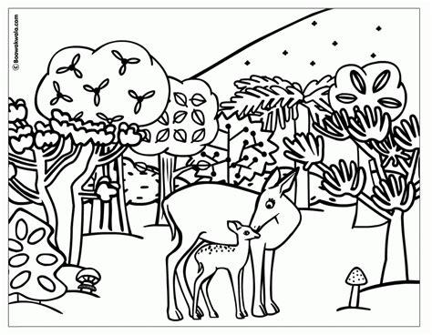 coloring pages of jungle scenes jungle scene coloring pages 1265 bestofcoloring com
