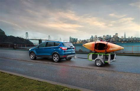 towing capacity for ford escape does the 2017 ford escape come in a v6