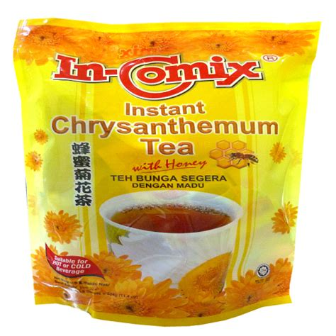 Honeyed Chrysanthemum Drink instant chrysanthemum tea with honey
