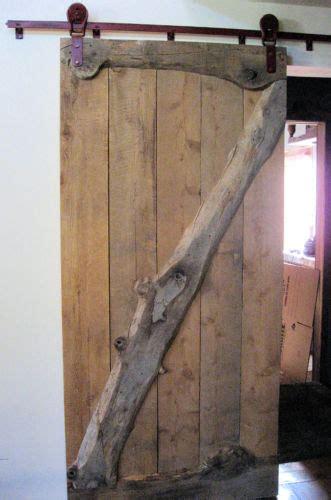 Rustic Barn Door Track Custom Sliding Barn Door With Louden Rollers And 85 Quot Track Sliding Barn Door Hardware Rustic