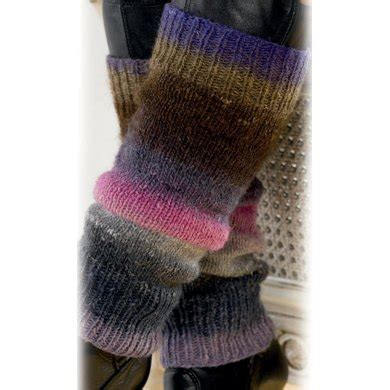 leg warmers knitting pattern 8 ply leg warmers in noro silk garden lite knitting patterns