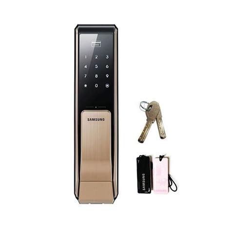Keypad Entry Door Lock by Samsung Ezon Shs P810 Keyless Digital Keypad Entrydoorlock Push Pull Door Lock With