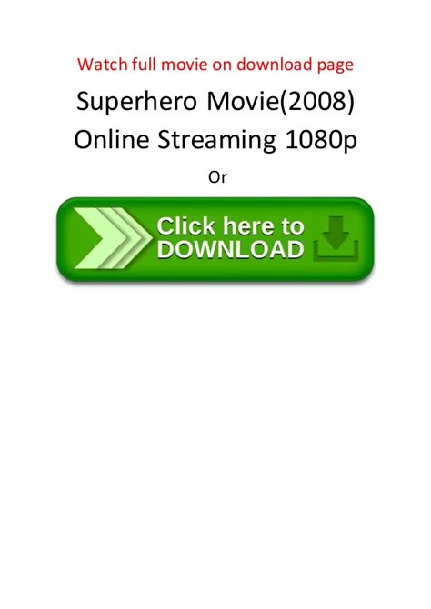 bester action comedy film superhero movie 2008 online streaming 1080p the best