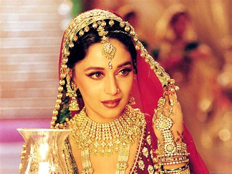 film india wedding beautiful madhuri dixit wallpapers