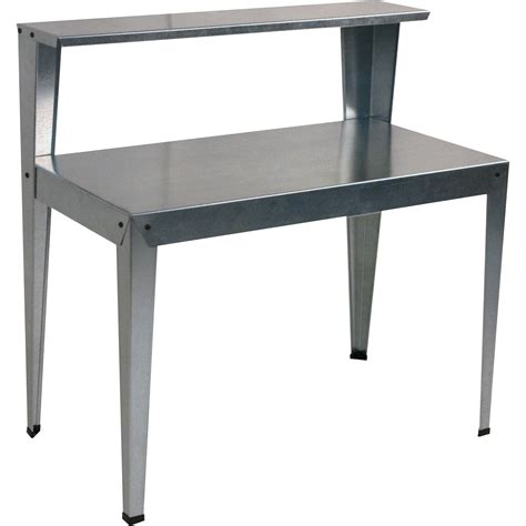 poly tex galvanized steel potting bench model hg2000