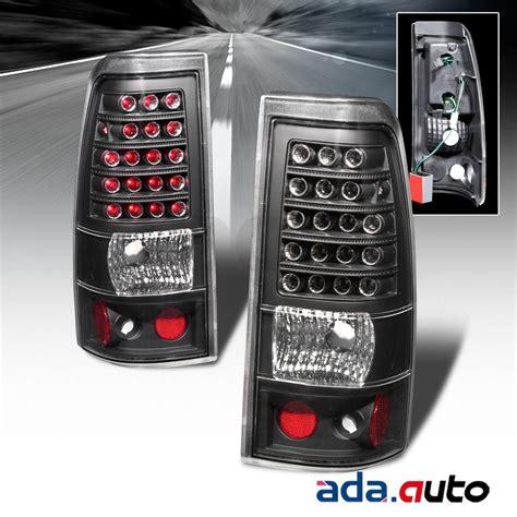 2006 chevy 2500 tail lights 2003 2006 chevy silverado 1500 2500 hd black clear led