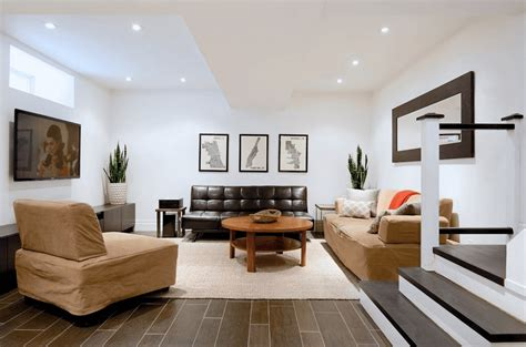 how to decorate basement living room basement decorating ideas that expand your space