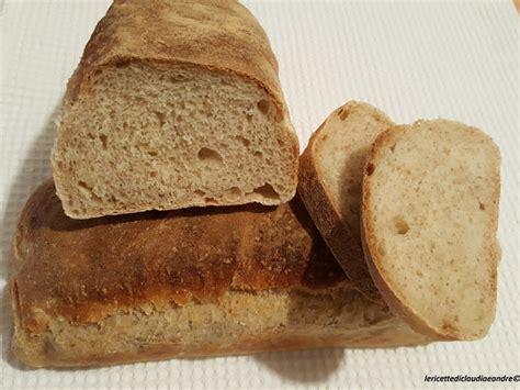 pane in cassetta con lievito madre pane in cassetta semintegrale con lievito madre