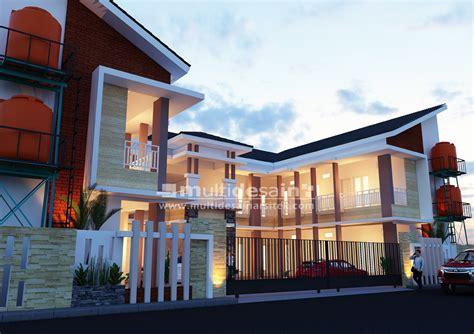 desain hotel kos kosan multidesain arsitek