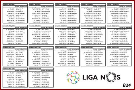 Calendã Liga Portuguesa 2017 18 Benfica Glorioso 1904 Calend 225 Liga Nos 2017 2018
