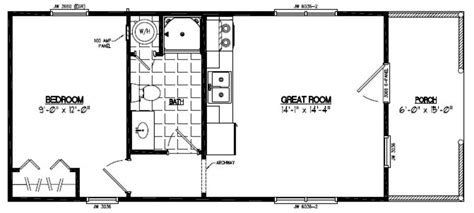 portable building floor plans 14 x 40 portable building floor plans home mansion