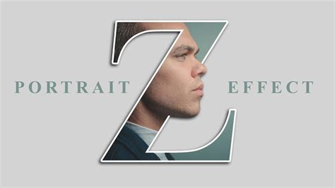 photoshop tutorial letter effect letter portrait text effect photoshop tutorial youtube