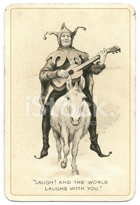 joker antique dondorf playing card stock photos