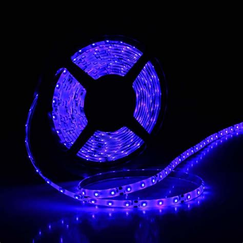 5m waterproof marine led lights blue light