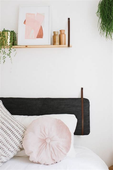 Diy Hanging Headboard by Diy Hack Hanging Cushion Headboard 4 Diy
