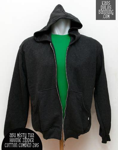Kaos Combed 30s Nouvo Z Bandung hoodie zipper polos bandung bahan katun fleece grosir