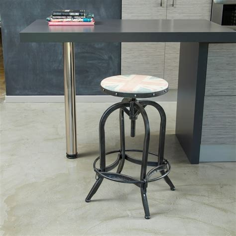 christopher knight bar stool christopher knight home wood top adjustable uk stool