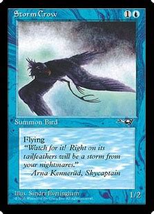 Storm Crow Meme - storm crow alliances gatherer magic the gathering