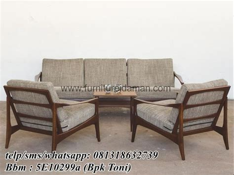 Kursi Sofa Retro Dan Puff 1set 38 best images about teak wood furniture designs on