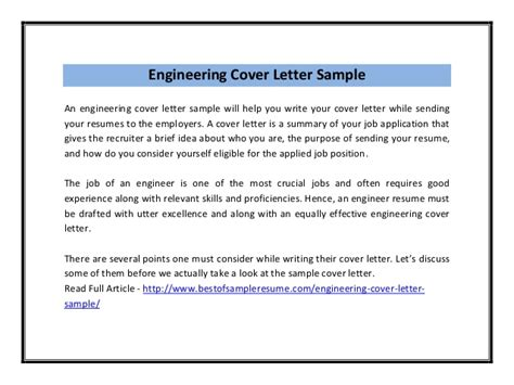 send cv engineering cover letter sle pdf