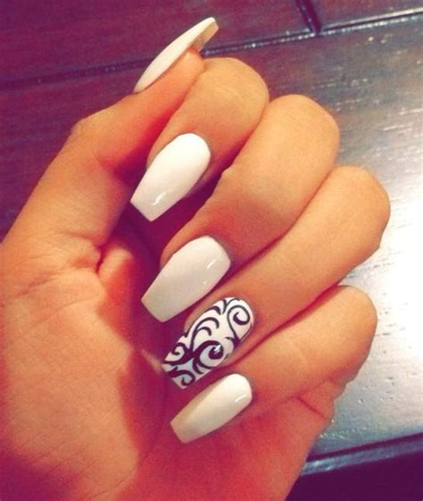 imagenes de uñas blancas de acrilico ideas con dise 241 os nail art para decoraci 243 n de u 241 as 2016