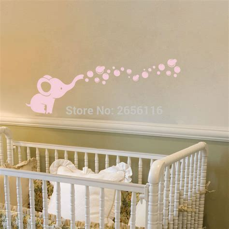 Cheap Wall Decals For Nursery Get Cheap Elephant Wall Decals Aliexpress Alibaba
