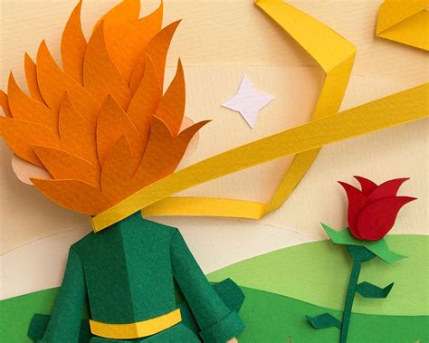 Paper Craft Design - fascinated paper illustration project inspired by the