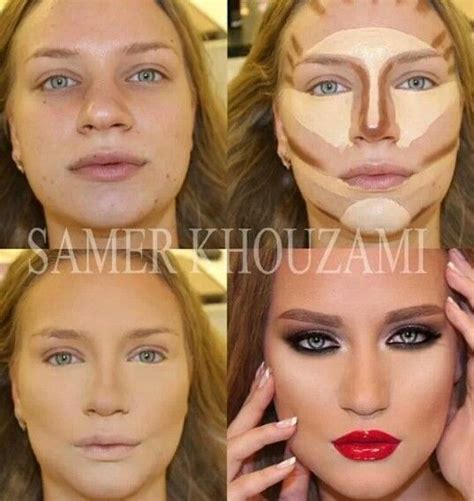 tutorial makeup transformation contouring makeup make up pinterest instagram