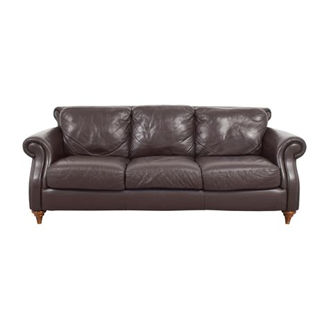 three cushion sofa sofa natuzzi 58 off natuzzi brown leather three cushion
